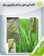 دانلود کتاب فنی مصور مراحل فنولوژی برنج