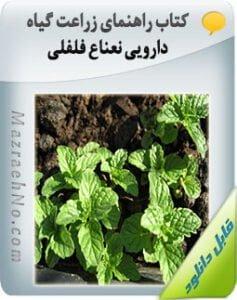 کتاب زراعت گیاه دارویی نعناع فلفلی