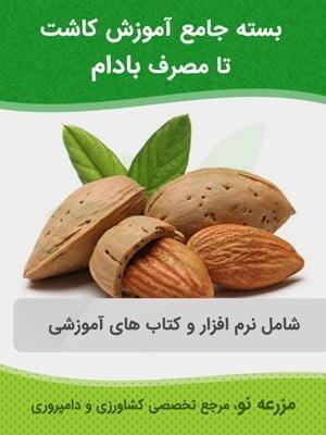 بسته جامع آموزش کاشت تا مصرف بادام