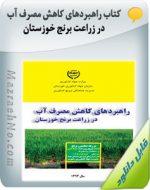 کتاب راهبردهای کاهش مصرف آب در زراعت برنج خوزستان