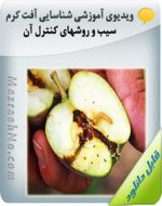 ویدیوی آموزشی شناسایی آفت کرم سیب و روشهای کنترل آن