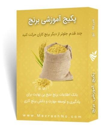 پکیج جامع آموزش زراعت برنج