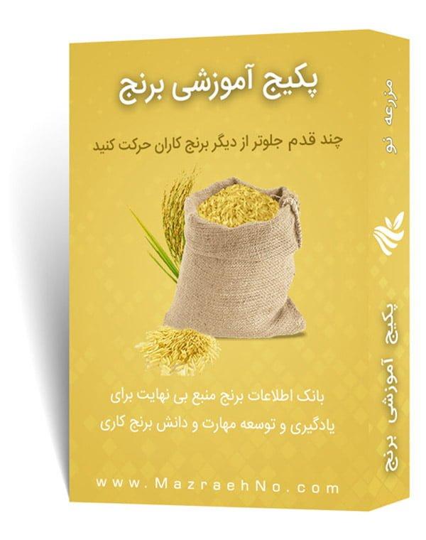 پکیج آموزشی زراعت برنج