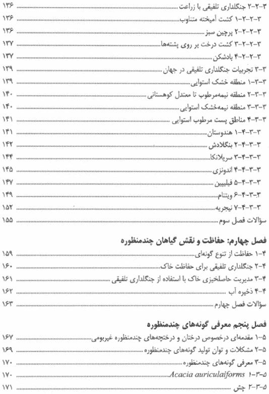 فهرست مطالب کتاب